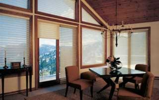 motorized shades on hard to reach windows