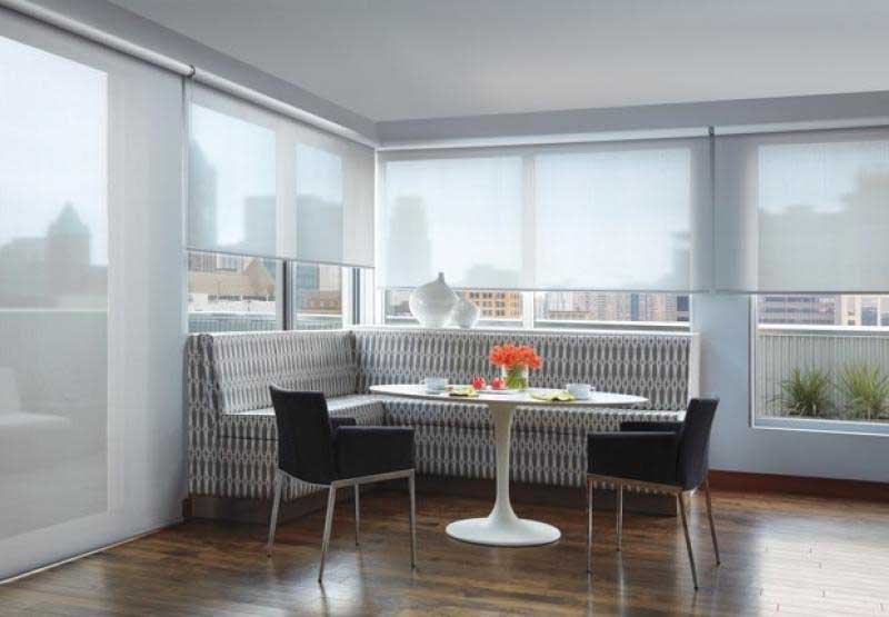 Hunter Douglas Designer Screen roller shades