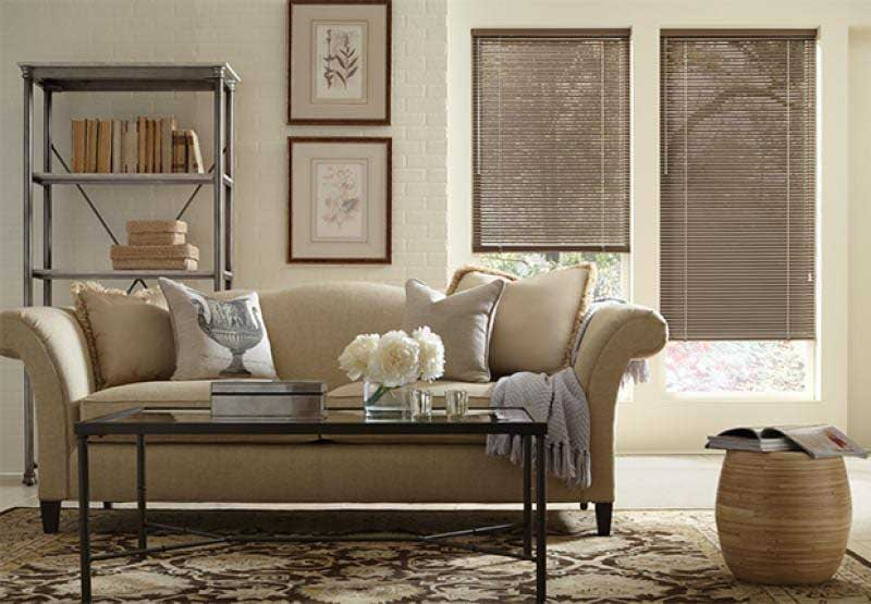 Décor® aluminum horizontal blinds
