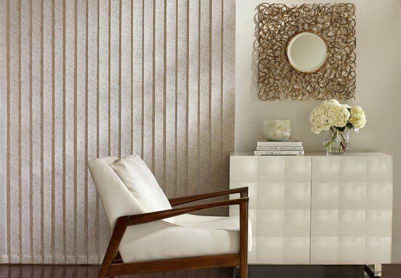 tan Somner® vertical blinds
