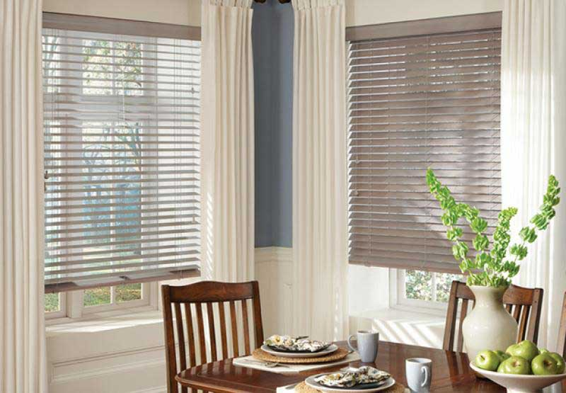 Parkland® Classics™ wood horizontal blinds