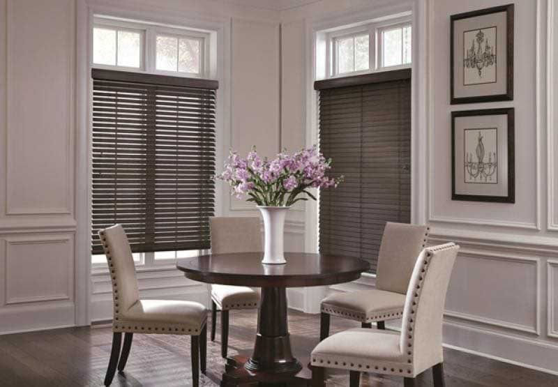 Parkland Textures horizontal window blinds