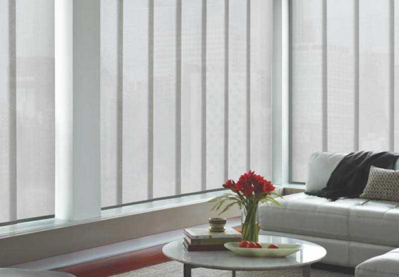 Hunter Doulgas Vertical Blinds Shop In Home In The Denver Area